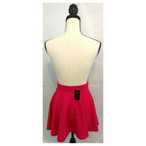 A & O Skirts - Skirt M 7-8 Mini Skater Circle Flare Fuscia Pink
